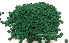 China Green Masterbatch with Polyethylyne As Carrier For Film Blowing or Injection company