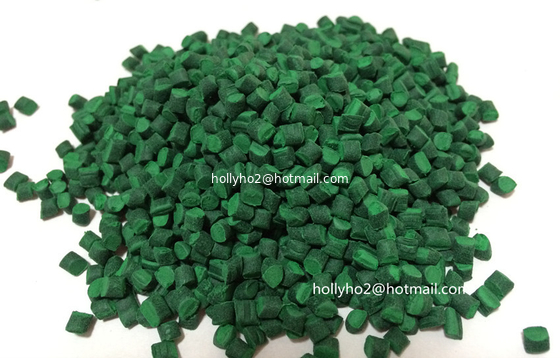 Green Masterbatch with Polyethylyne As Carrier For Film Blowing or Injection