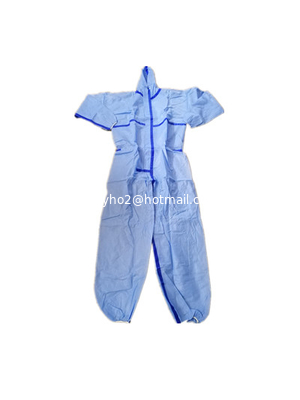 Protective Disposable Coverall Blue with Different Sizes